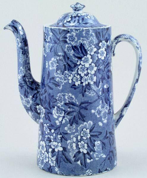 China Blue Coffeepot