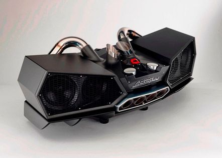Impianto audio Lamborghini