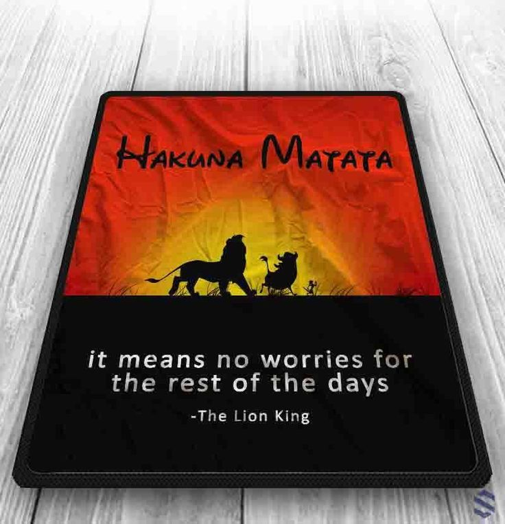 Hakuna Matata Lion Kings Quote Custom Blanket 58 x 80 Inch Exclusive Design #Unbranded #Modern #fashion #Style #custom #print #pattern #modern #blanket #bedroom #bedding #polyester #cheap #new #hot #rare #best #bestdesign #luxury #elegant #awesome #newtrending #trending #bestselling #sell #gift #accessories #women #men #kid #girl #birthgift #gift #love #amazing #boy #beautiful #gallery #couple #bestquality #disney #hakunamatata #lionking #cartoon