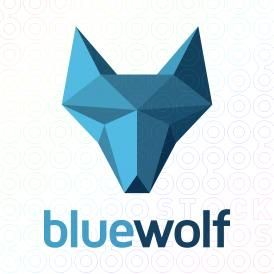 Blue Wolf Diamond logo