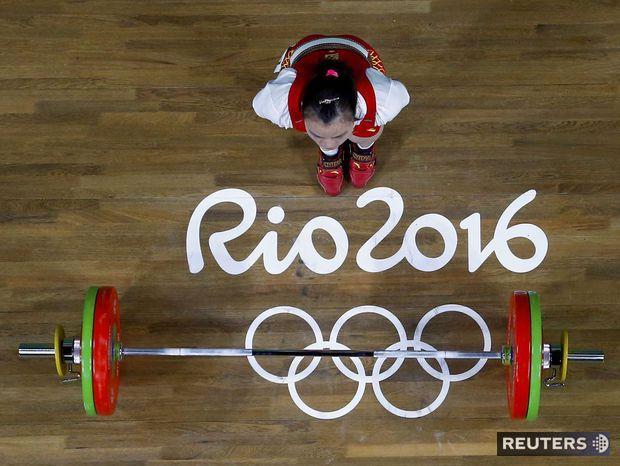 olympiáda, Rio 2016, vzpieranie, činky,