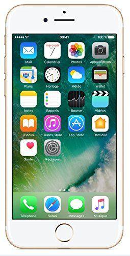 Apple iPhone 7 Smartphone débloqué 4G (Ecran : 4,7 pouces - 32 Go - iOS 10) Or