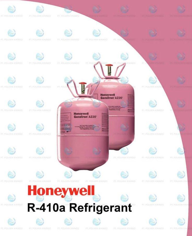 R-410A, dijual dengan nama merek dagang Suva 410A, Forane 410A, Puron, EcoFluor R410, Genetron R410A, dan AZ-20, adalah zeotropik, tapi campuran dekat-azeotrop dari difluorometana (CH2F2, disebut R-32) dan pentafluoro- etana (CHF2CF3, disebut R-125), yang digunakan sebagai pendingin dalam aplikasi AC. Silinder R-410A berwarna  refrigerant R410a