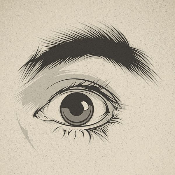 Look at me! by Cranio Dsgn, via Behance