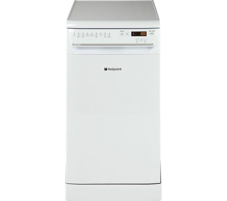 HOTPOINT Ultima SIUF32120P Slimline Dishwasher - White