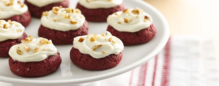 You'll be the star of the kitchen with these scrumptious red velvet cookies!