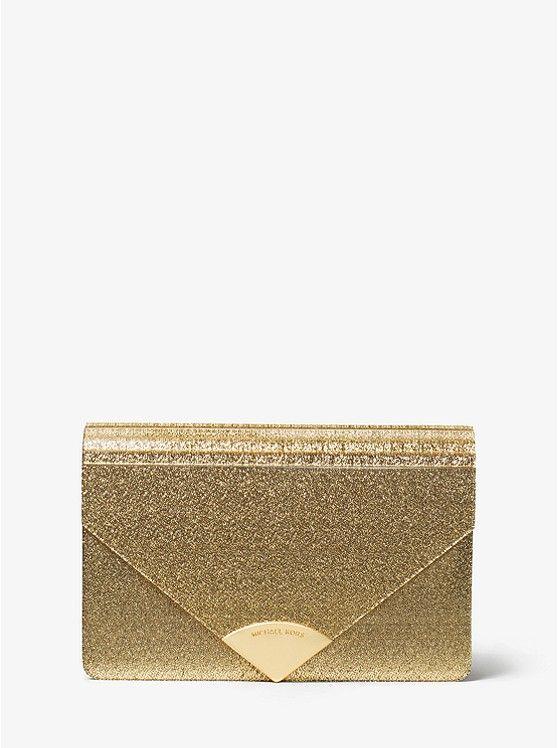 233448d47d466d Barbara Metallic Envelope Clutch_preview0 | ~PURSES~ | Michael kors ...