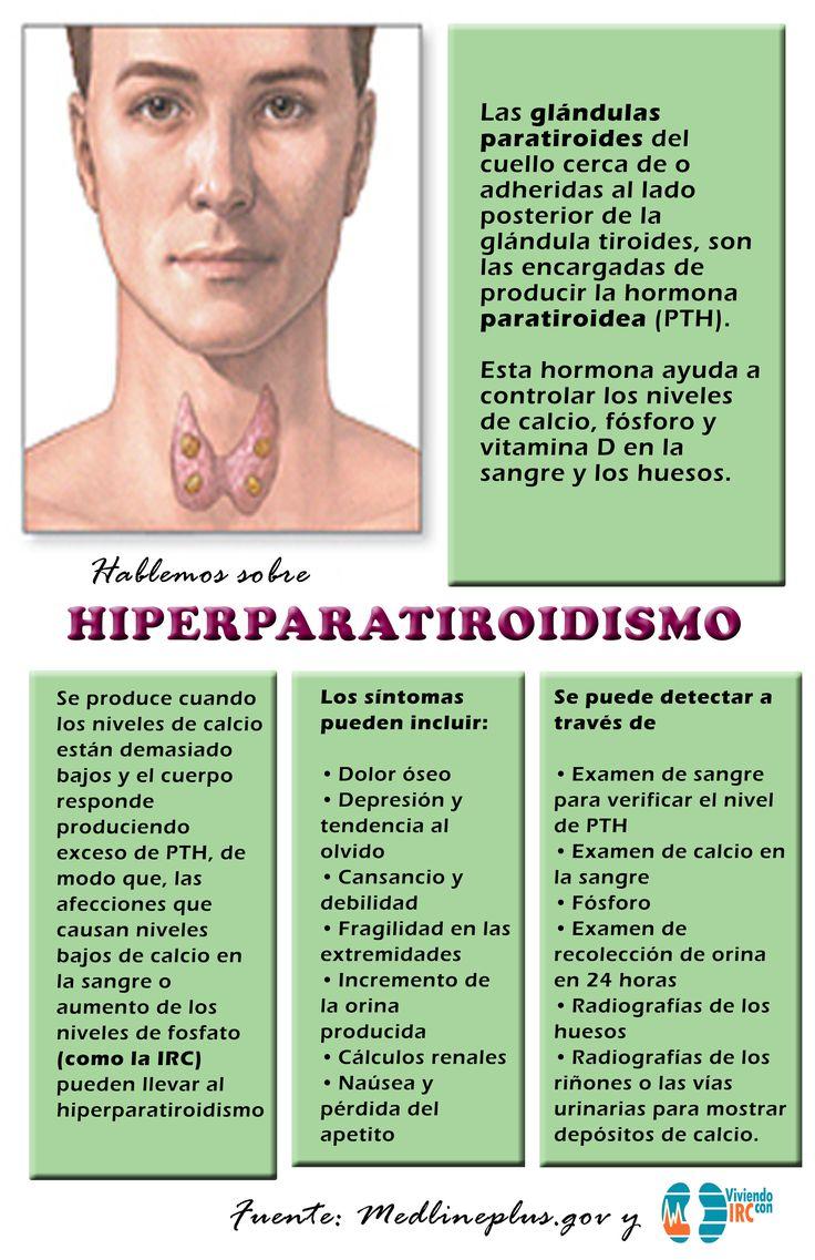 Hiperparatiroidiamo salud renal IRC ERC riñones tiroides