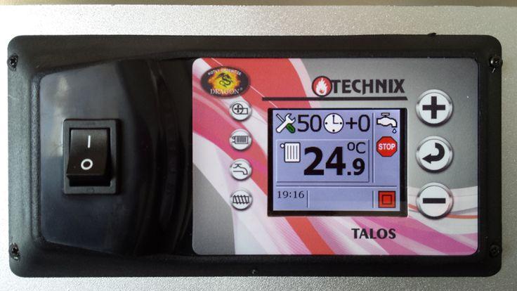 STEROWNIKI: Regulator adaptacyjny TALOS PID przeznaczony jest do sterowania pracą kotła CO wyposażonego w podajnik tłokowy lub ślimakowy.   tel./fax: 62 741 84 60 kom. 501 035 240  e-mail: biuro@kotly-dragon.pl e-mail: handlowy@kotly-dragon.pl  Zapraszamy również na nasze aukcje: http://allegro.pl/listing/user/listing.php?us_id=34032782    #producent #kotłygrzewcze #dragon #piecuniwersalny #wielopaliwowy #jakość #podajnik #dmuchawa #spalanie