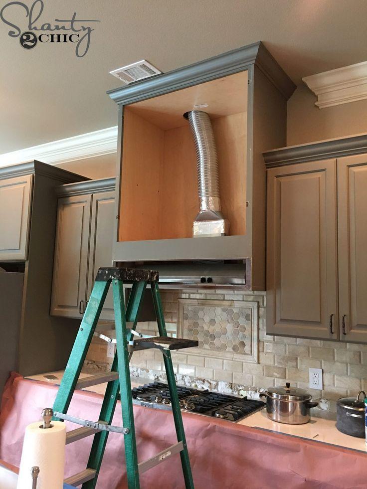 Diy Barn Door Vent Hood Diy Kitchen Renovation Kitchen Vent Kitchen Remodel