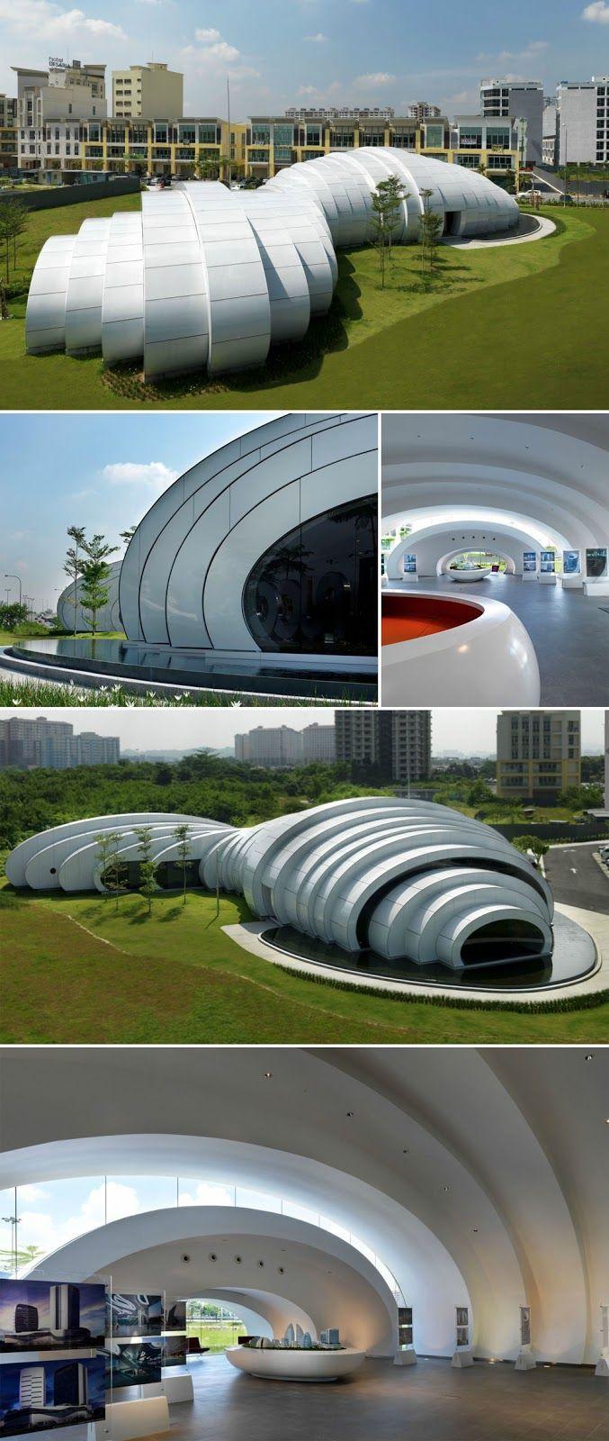 The POD designed by Hijjas Kasturi Associates Sdn with Studio Nicoletti Associati, 2011, Kuala Lumpur, Malaysia.