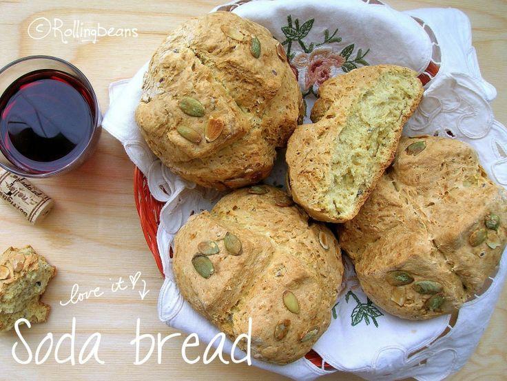 Irish soda bread! Il pane fatto in casa per quelli che non hanno  mai tempo