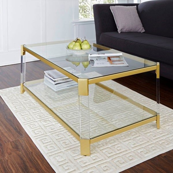 Overstock Com Online Shopping Bedding Furniture Electronics Jewelry Clothing More Coffee Table Gold Coffee Table Living Room Coffee Table