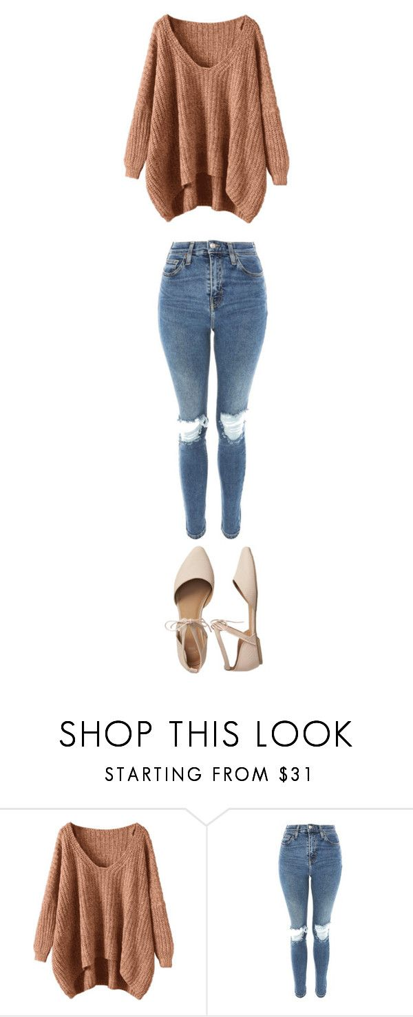 """""""school"""" by ottoca ❤ liked on Polyvore featuring Topshop and Gap"""