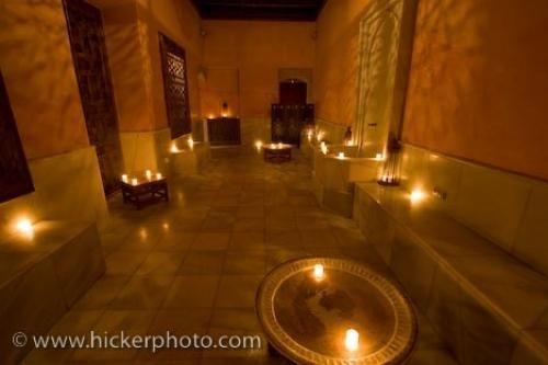 Moorish Baths Aire De Sevilla Seville Andalusia Spain