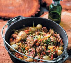 Beef, Bacon and Beer Potjie #Beef #Recipe #SouthAfrica