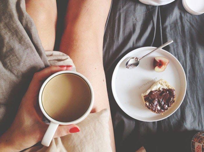 Sunday Moring, Coffee time, Extrawurst