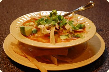 Authentic Mexican Tortilla Soup