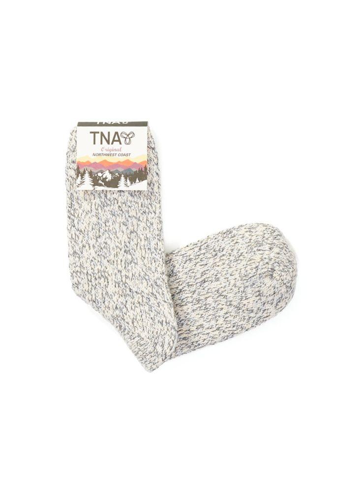 TNA BIRKEN SOCKS - Workwear-inspired socks made for cold weather