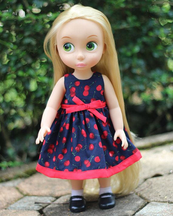 Disney Princess Animators 16 doll Clothes por moni2gurumi en Etsy