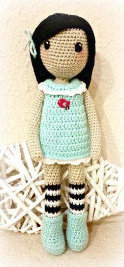gorjuss crochet doll - Google Search