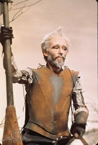 Peter Otoole as Don Quixote in Man of La Mancha
