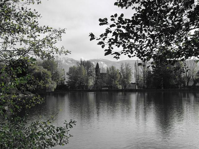Puigcerda lago, Catalunya