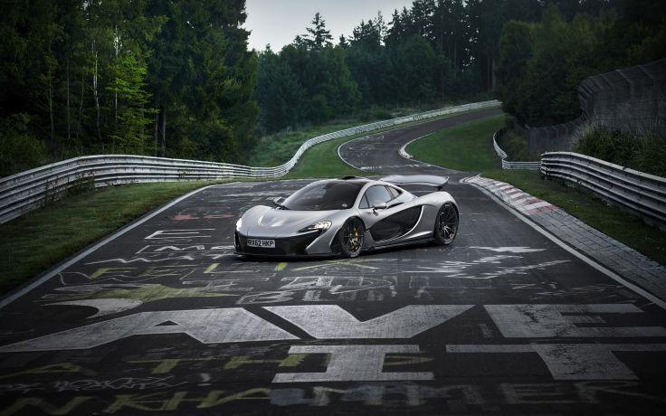 2013 McLaren P1 supercar p-1 f