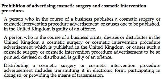 """The Cosmetics Industry Bill"" by Tracy Meharg"