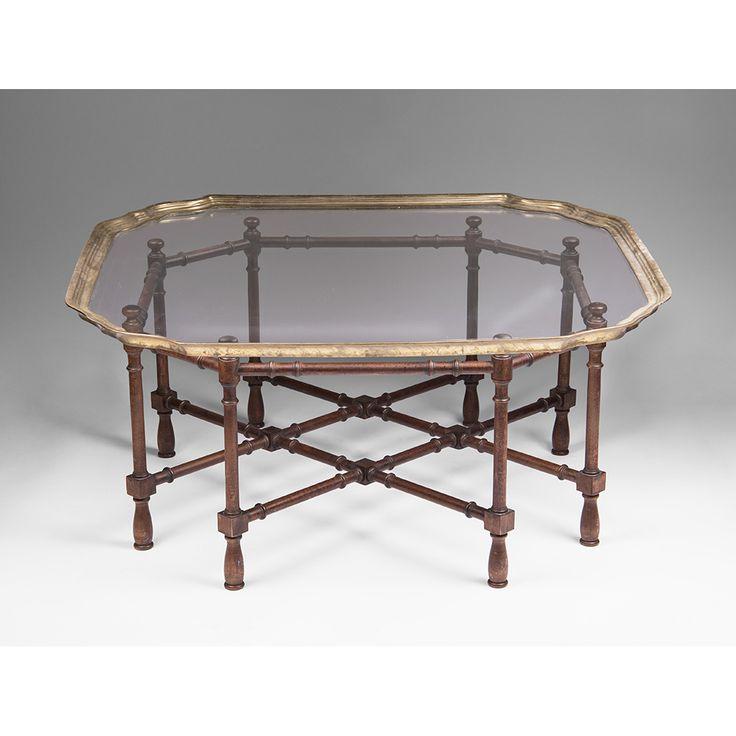 Vintage Glass top Coffee Table - Living Room Tables Set Check more at http:/