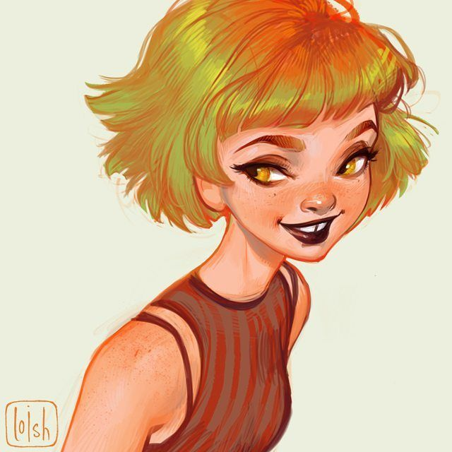 Character Design Digital Art : Best loish images on pinterest character