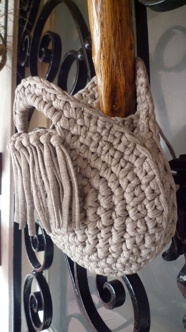 Crochet Bags (T-shirt yarn)