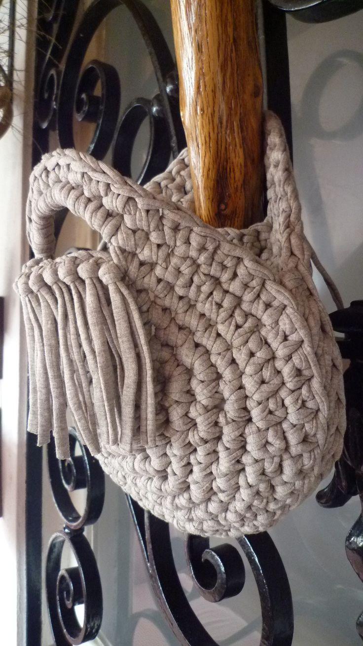Crochet Bags (T-shirt yarn)