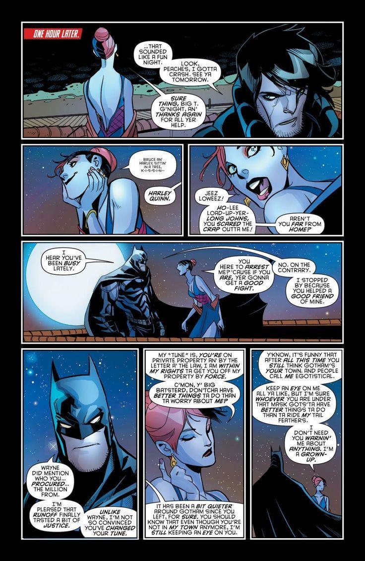 Batman dating harley quinn