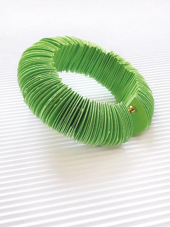 Super fashion jewelry acidic green bracelet psychedelic