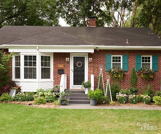 64 best images about curb appeal on pinterest fall for Cheap exterior paint
