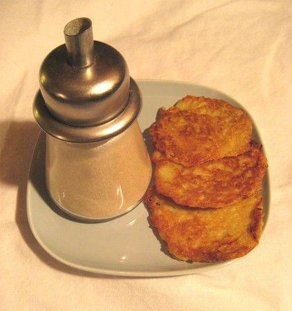 placki (galettes de pommes de terre, recette polonaise)