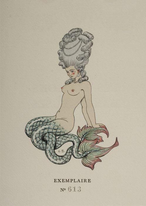 rococo mermaid