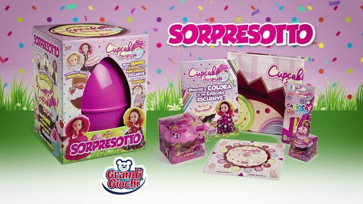 Con🍦 SORPRESOTTO CUPCAKE SURPRISE🍦 la Pasqua è più dolce!🐣  Al suo interno trovi sempre una Cupcake ed una mini Cupcake assieme ad altre coloratissime sorprese🌈!