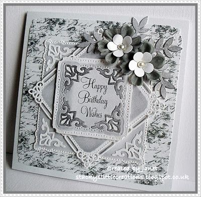 Stacky's little creations: 'Marvellous squares' Spellbinders die