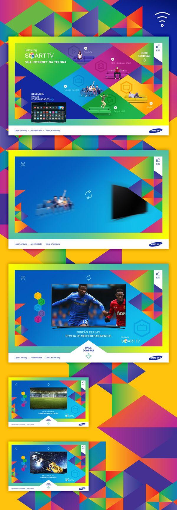 Samsung Smart TV by Ian Sutter, via Behance