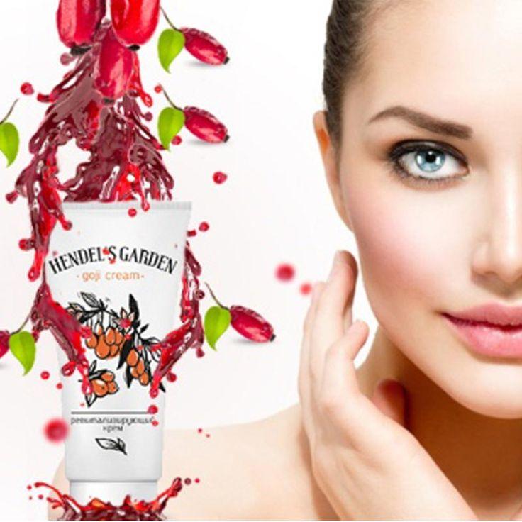 Ultraviyole ışınlarına karşı cildi korumak için çeşitli vitaminler içerir ve cilt hücrelerinin yeniden yapılandırılmasını hızlandırıp biyolojik olarak pasif unsurları azaltır.  Geniş spektrumlu vitamin, eser elementler ve amino asitler birleşerek savaştıkları kırışıklıkların yeniden oluşmasını engeller.  Goji krem kısa sürede hızla emilen formülü ile derinin derin tabakalarında kolajen üretimini harekete geçirir, cildin doğal elastikiyet yapısını geri kazandırmaya yardımcı olur. 14 GÜN…