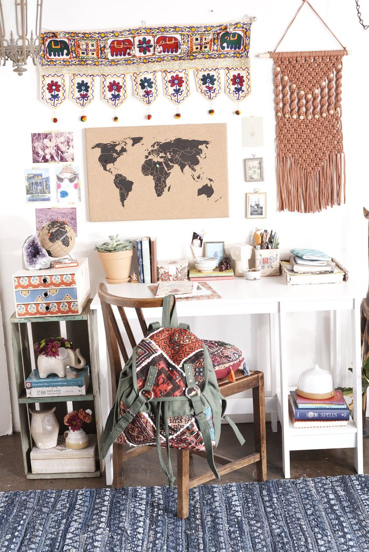 Desk Goals. Nomads on Campus - Earthbound Trading Company