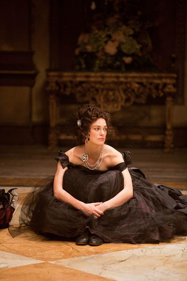 Keira in Anna Karenina. Cara Delevingne is in it as well, I wanna see it soooo bad!!!