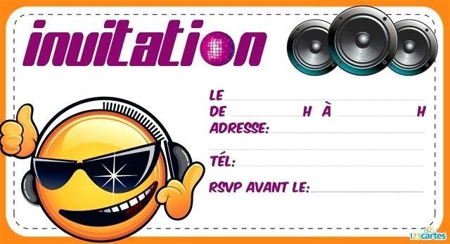 luxe carte d invitation anniversaire pour fille de 10 ans pour carte anniv… | Invitation ...
