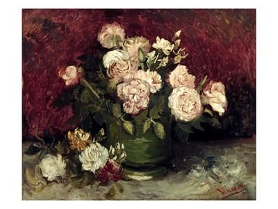Van Gogh: Roses, 1886 Giclee Print by Vincent van Gogh at Art.com
