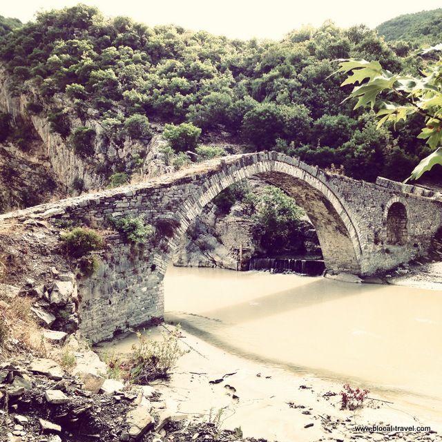 Benje thermal waters near Permet Albania Balkans Read more here> http://www.blocal-travel.com/2014/10/permet-mountainous-south-of-albania.html