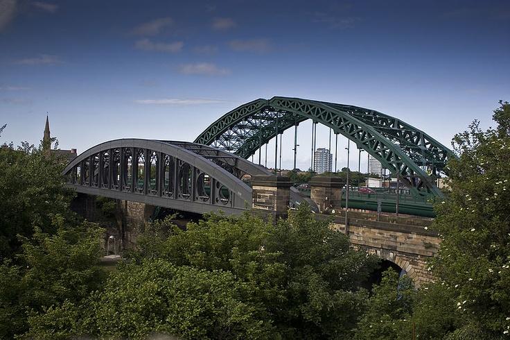Sunderland bridges across the river wear.