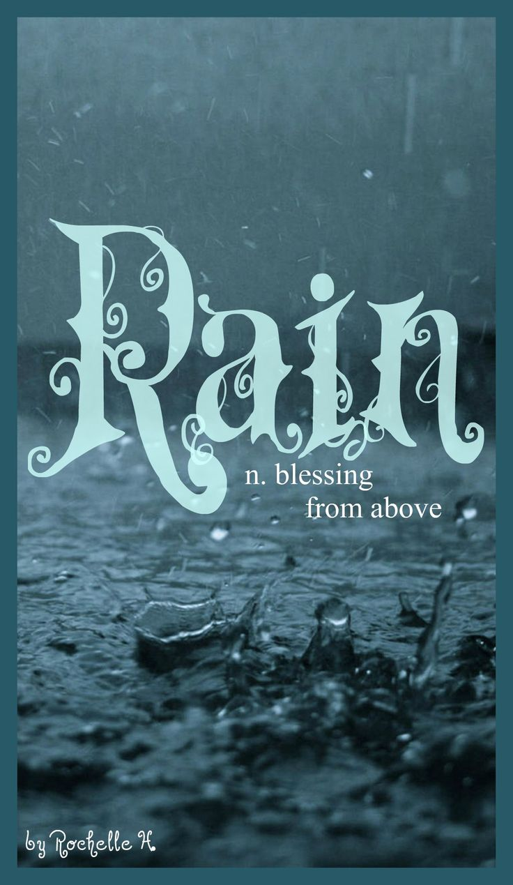 Baby Girl Name: Rain. Meaning: Blessing From Above. Origin: Latin; English. http://www.pinterest.com/vintagedaydream/baby-names/