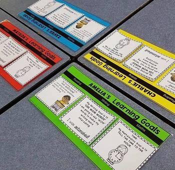 Student Goals Mat display your students writing goals